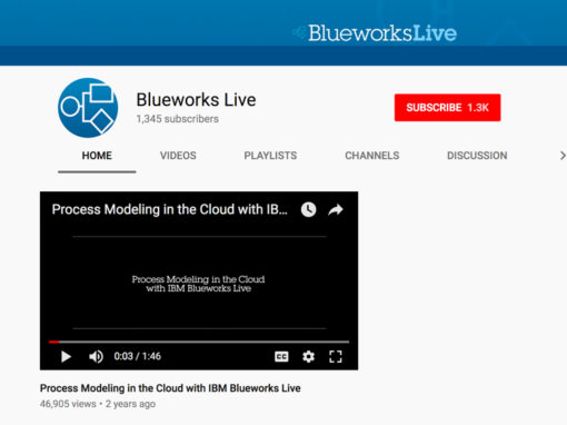 Blueworks Live YouTube Channel