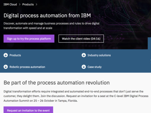 IBM Digital Process Automation